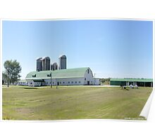 Dairy Farm in Vermont Poster