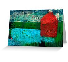 Lonely Beachhouse Greeting Card