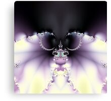 Purple Butterfly Canvas Print