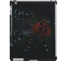 Eresus cinnaberinus- red spider iPad Case/Skin