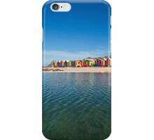 Colourful St James beach iPhone Case/Skin
