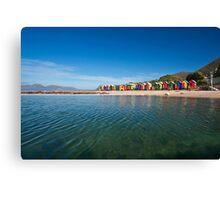 Colourful St James beach Canvas Print