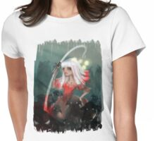 Lolly bo peep and her bleeting phantom sheep Womens Fitted T-Shirt