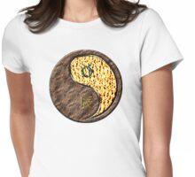 Taurus & Dragon Yang Fire Womens Fitted T-Shirt