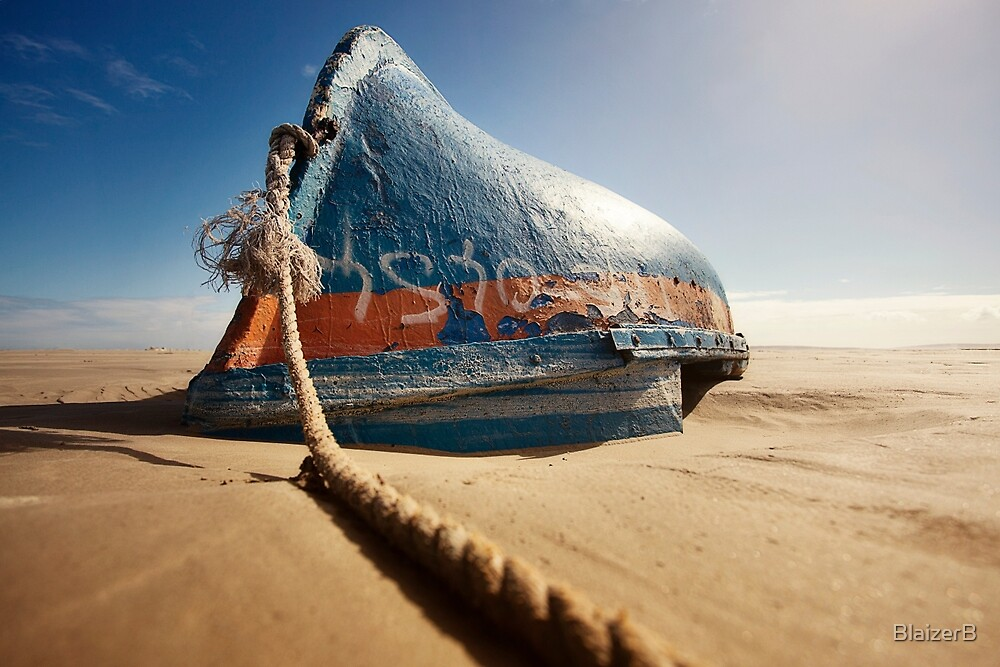 old boat by BlaizerB