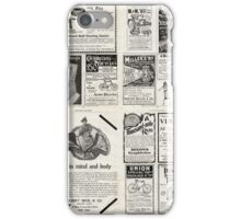 Retro Ad Wall iPhone Case/Skin