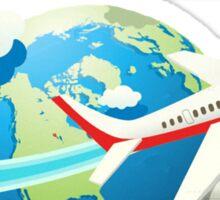Travel is my destination Sticker