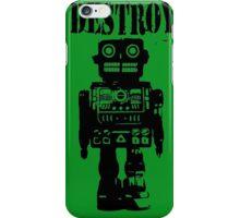 Destroy 01 iPhone Case/Skin