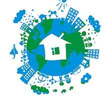calendar GLOBE 2011 by Anastasiia Kucherenko