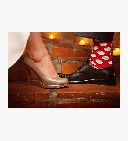 socks and shoes Photographic Print