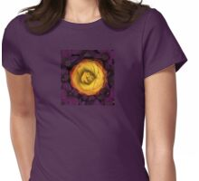 Cradled Womens Fitted T-Shirt