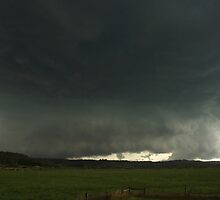 Massive Hailstorm approaches Lismore by Michael Bath