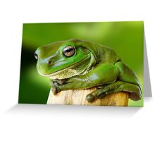 Portrait of a Prince Greeting Card