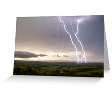 McLeans Ridges Lightning Attack 2 Greeting Card