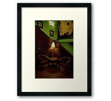 Corner Seating Framed Print