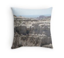 Badlands Collection 2009 Throw Pillow