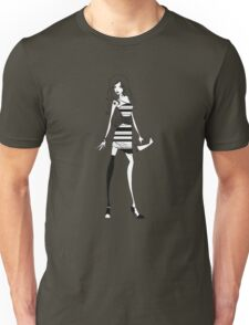 Striped Dress Unisex T-Shirt