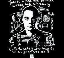 Sheldon Cooper by Sam Noeninckx