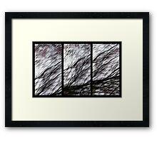 It's an ill Wind Framed Print