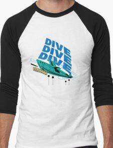 Dive! Dive! Dive! Men's Baseball ¾ T-Shirt