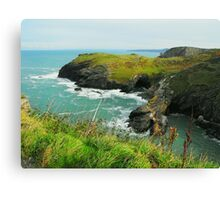 Merlin's Cave Canvas Print
