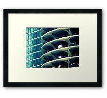 Marina City Framed Print
