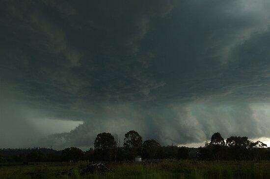 Destructive Hailstorm approaches Kyogle by Michael Bath