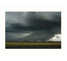 Severe Hailstorm near Lismore Art Print