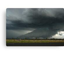 Severe Hailstorm near Lismore Canvas Print