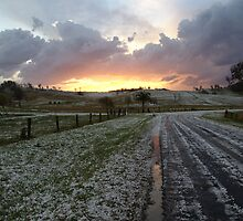 Sunset after Kyogle Hailstorm by Michael Bath