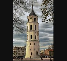 Lithuania. Vilnius. Cathedral's Bell Tower. Unisex T-Shirt
