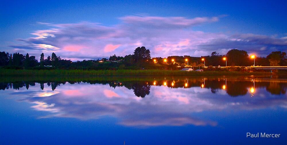 Wairoa River at night 13 by Paul Mercer