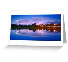 Wairoa River at night 13 Greeting Card