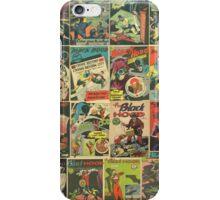 Blackhood Wall Comic Print iPhone Case/Skin