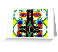 The Lone Stranger Rides Again Greeting Card