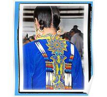 Ceremonial Regalia (Pow Wow Series) Poster