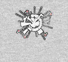 Alpha Moon Base Grunge Front Unisex T-Shirt