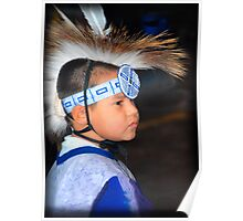 Young Observer   (Pow Wow Series) Poster