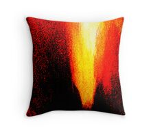 red heat ... pressure over load Throw Pillow