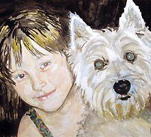 Best Friends by Jim Phillips