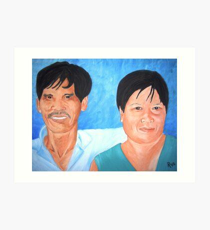 Tribe Elders Art Print