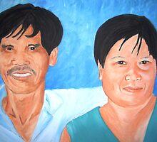 Tribe Elders by Angela Palibrk