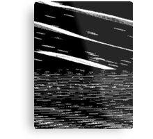 Screen Tear Metal Print