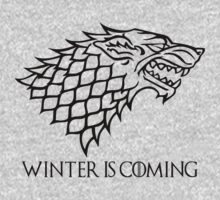 Winter is Coming - House Stark (Game of Thrones)  by levinia94