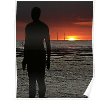 Sunset Gormley Poster