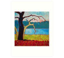'Tree Landscape' Art Print