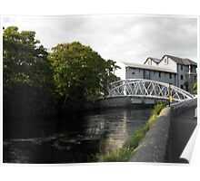 New River Fergus bridge Poster