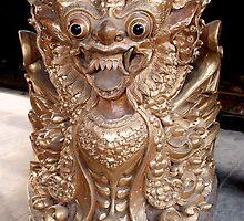 Balinese Carving for Cymbals by JonathaninBali