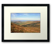 Connor Pass view Framed Print