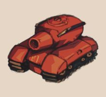 Red Tank 81 by wanderinghobo